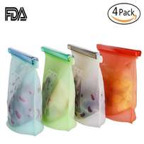 Silicone bags for fridge