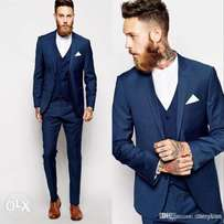 bespoke blue suit