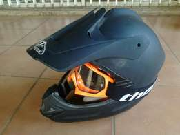 Helmet and goggles for sale