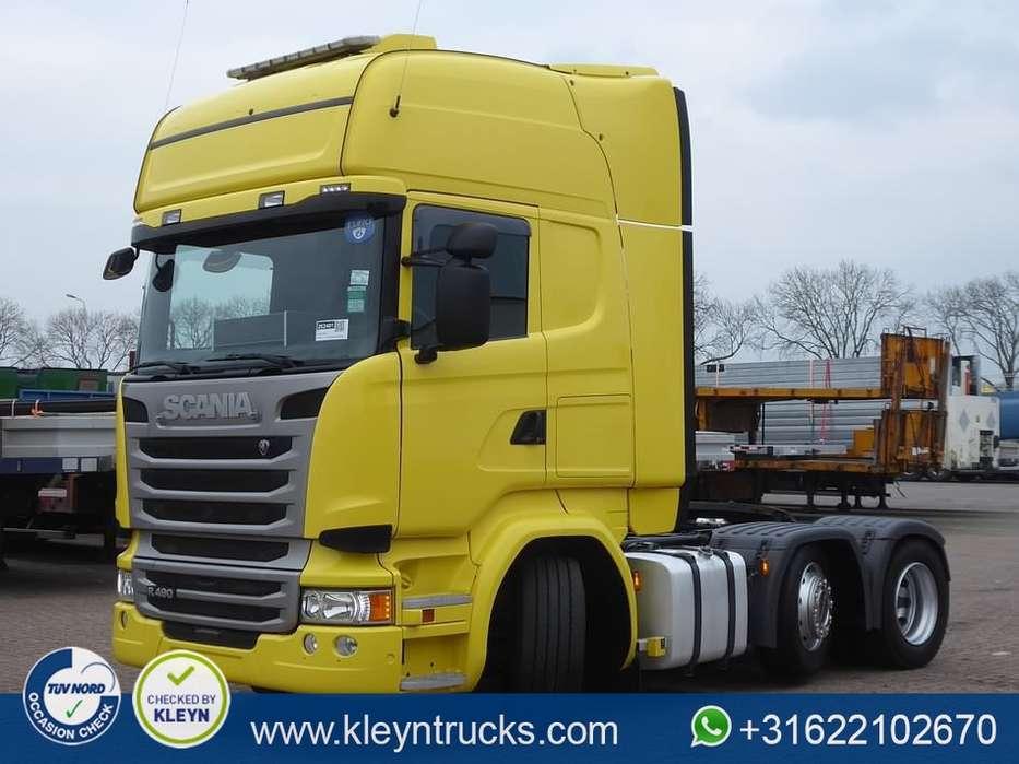 Scania R490 tl 6x2/4 ret. euro 6 - 2014
