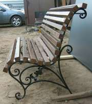 The old traditional benches are back. Kiaat wood. Best quality.