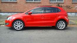 2013 Vw polo 6 comfortline 1.6 sunroof for sale at R130000