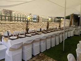 Decor&Catering services around Witbank, Equipment available for hire.