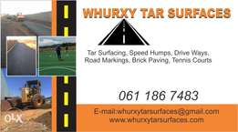 whurxy tar surfaces