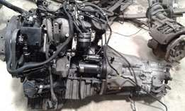 Mercedes Sprinter 311CDI engine complete supply and fitting