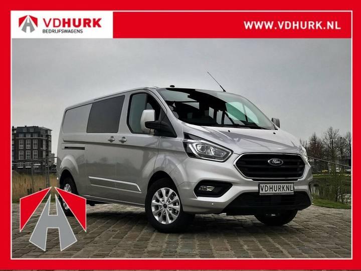 Ford Transit Custom 300 2.0 TDCI 131 pk Limited Aut. DC Dubbel - 2019