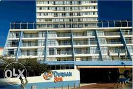 Durban Spa 31-03 April Fri-Mon 2 bed 6 slp Balcony Deal R 4999