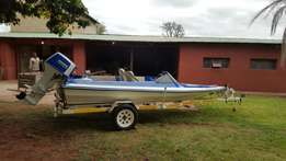 Dart boat, Suzuki 85 engine for Sale