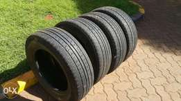 4 tyres - 195/65R15