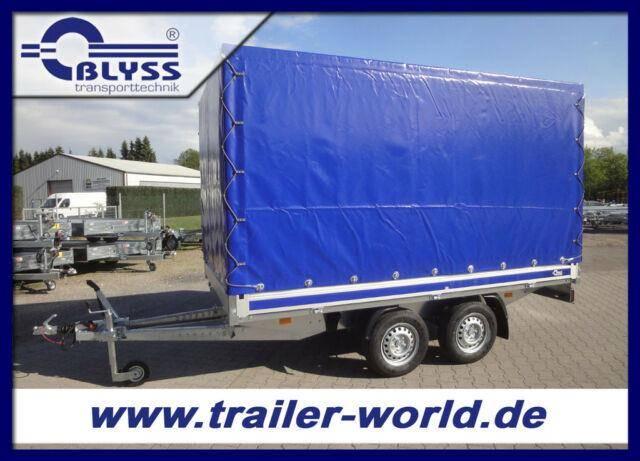 Blyss Hochlader 2,7t GG Anhänger 330x180x180cm + Plane