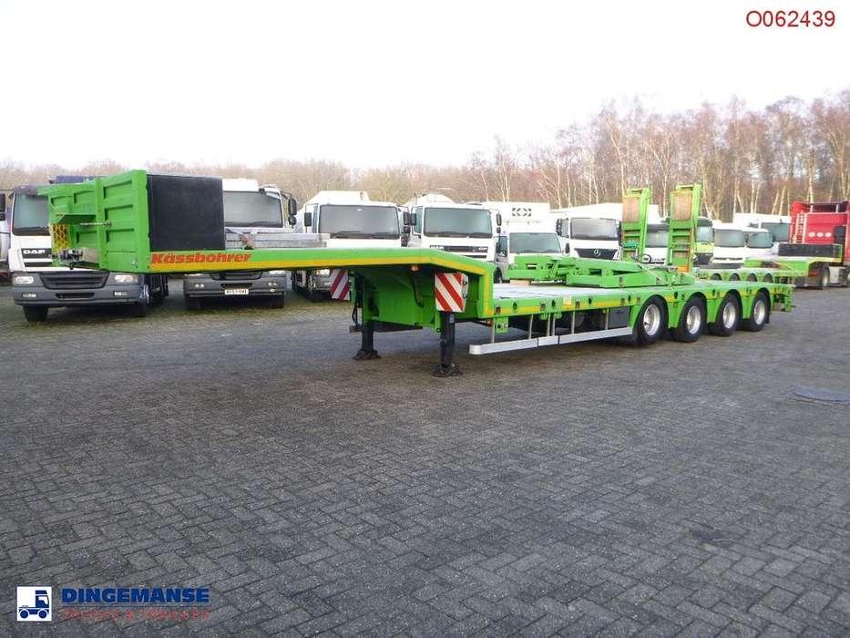 Kaessbohrer Semi-lowbed trailer / ext. 15.2 m + 2 steering axles - 2014