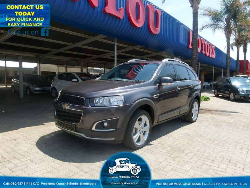 2013 Chevrolet Captiva 22d Ltz 4x4 At Cars Bakkies