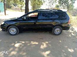 A buy-and-drive Black Toyota Fielder. Ready for viewing at Embu town