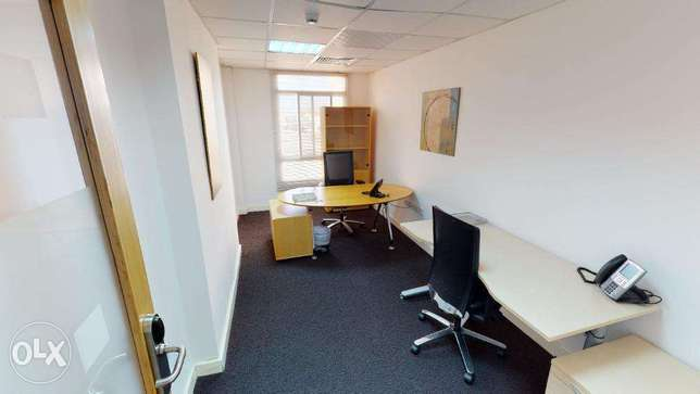 Furnished Shared Office Space from 120 OMR روي -  2