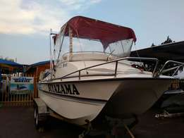 Yeld Cat 2 x 115 Four Stroke Yamaha