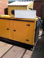 Motor generator set. 100kva. Perkins engine.