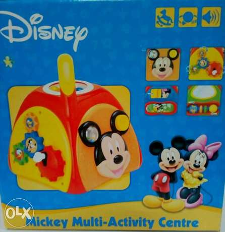 Mickey activity center 10/5