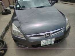 2007 Honda Accord with Leather Seats