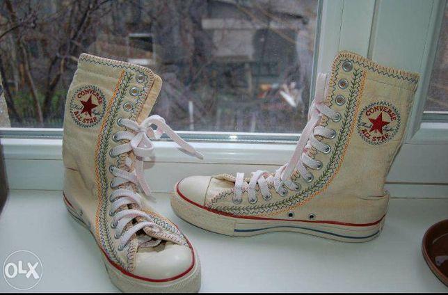 Converse all star высокие кеды конверсы кеди конверси сапоги кроссовки  Богородчаны - изображение 5 1f469b63afbd0