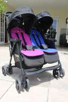 Joie Aire Twin Stroller and other baby stuff for sale