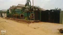 decently built church hall for sale at ayobo