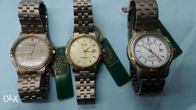 ORIENT watches made in japan