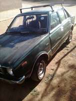 Selling a toyota sprinter 2t engine 1980 model still on the road