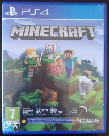 Minecraft for Ps4 #-# Used