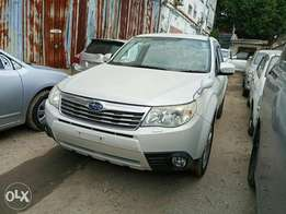 Subaru forester 2010 model. KCP number Loaded with Alloy rims, good mu