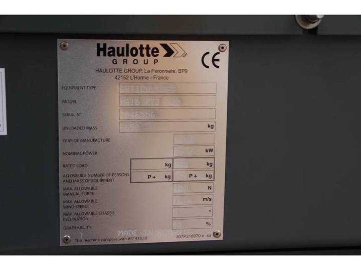 Haulotte HA16RTJPRO NEW / UNUSED, 16 m Working Height, Also - 2018 - image 6