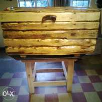 Hand made wooden boxes