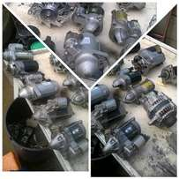 alternators and starters repairs, recon and replacement from R200
