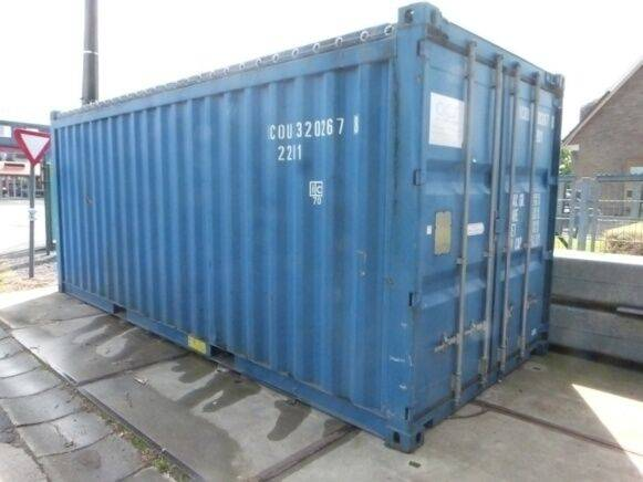 Sale tyc-319a 20 feet container for  by auction - 2019