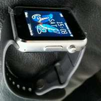 Smart watch with heart rate monitor&massager+sim slot.
