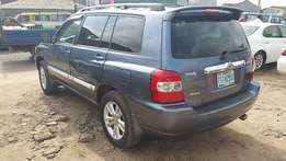 Toyota Highlander (2006) first body