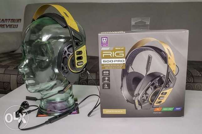 Gaming Headset - Plantronics Rig 500 pro