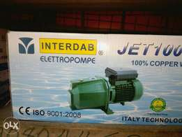 Interdab surface pump