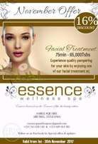 Facial Treatment Offer