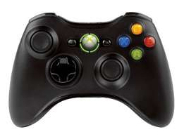 Xbox 360 Black Controller Great Condition
