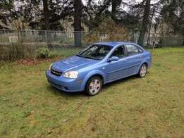 Chevrolet Optra 2005 Model For Sale (Only Needs a Gearbox)