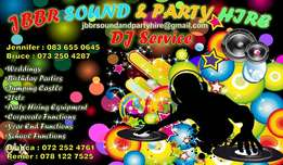 Jbbr sound and party hire services