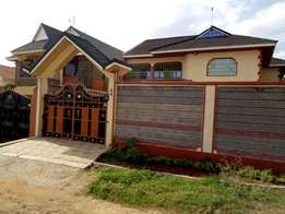 Four bedroom at Ruiru membly membely sitting on 40 by 80 Plot