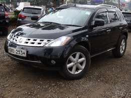 Nissan Murano 2005 model black colour Sunroof excellent condition