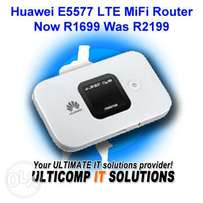 Huawei E5577 LTE MiFi Router Now R1699 Was R2199