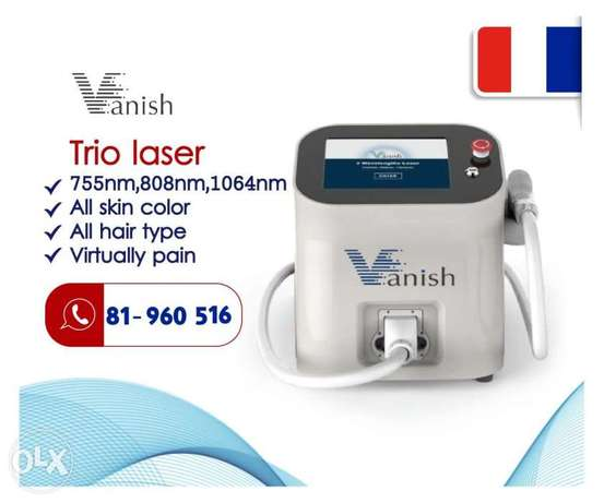 VANISH trio laser hair removal تريو