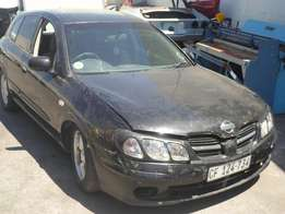 2001 Nissan Almera stripping for spares