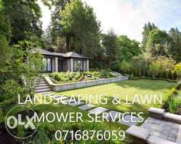 Landscaping and lawnmower services