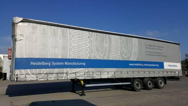 Schmitz Cargobull 4xMega,Varios, Lift, Hubdach,Code XL,TÜV 09/2019 - 2011