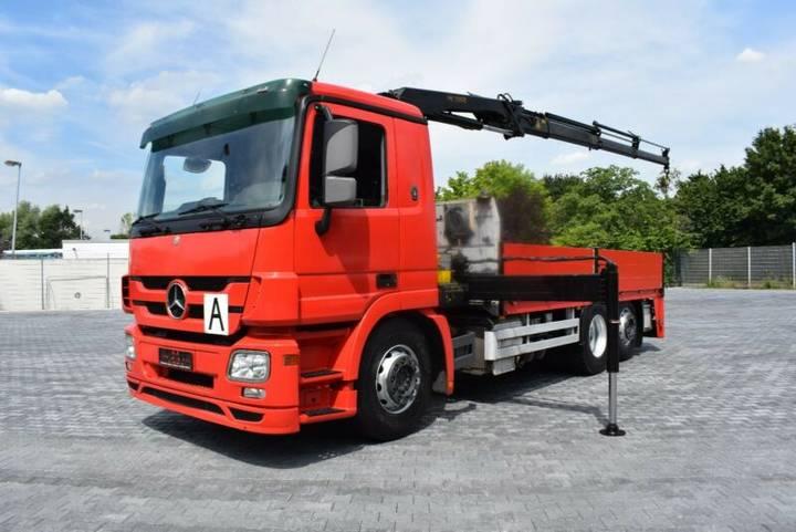 Mercedes-Benz Actros 2541 Pritsche mit PK11002 3x hydr. Funk - 2009
