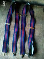 Navy blue n Red Adjustable suspender
